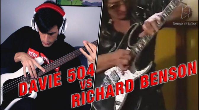DAVIE 504 VS RICHARD BENSON – Epic Battle @Christian_Ice